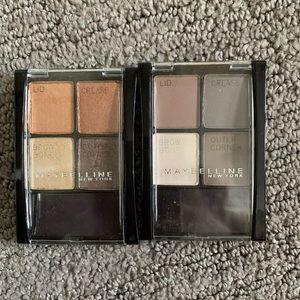 5/$15 Maybelline eyeshadow palettes